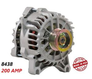 Ford Mustang Alternator 200 Amp 2005 2006 4 6l New High Amp High Output Hd