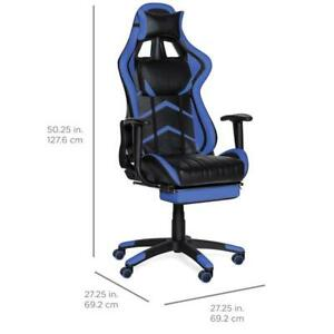 Reclining Gaming Chair With Footrest Brand New Free Shipping