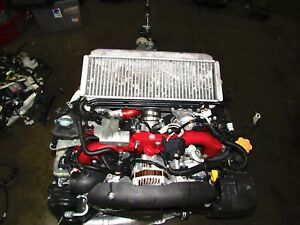 Jdm Subaru Ej207 Sti Engine And 6 Speed Transmission Version 10 2008 2010