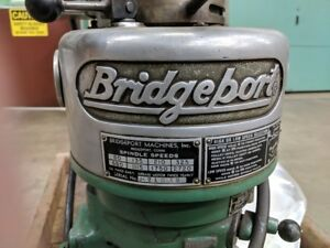 Bridgeport Vertical Milling Machine Head Only no Base