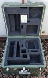 Hardigg 22 X 21 X 12 Case Pelican Chest Hinged Lid Cube Laptop Military Shipping