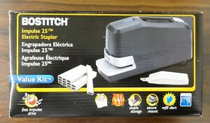 Bostitch Professional Heavy Duty B8 Impulse 25 Electric Stapler Value Kit