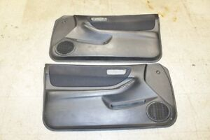 1994 2001 Jdm Acura Integra Dc2 Type R Oem Black Door Cards For Coupe Gsr Sir G