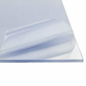 1 8 3mm Clear Polycarbonate Lexan Sheet 12 X 12 Azm New