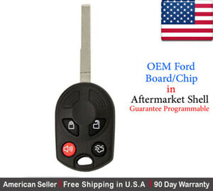 1x Original Oem Keyless Remote Key Fob For Ford Escape Fiesta Oucd6000022