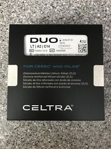 Celtra Duo For Cerec And Inlab Blocks Shade Lt A2 c14