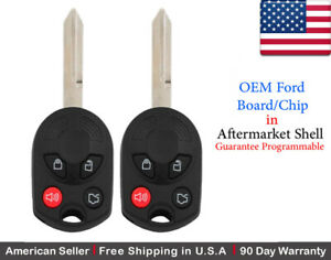2x Replacement Oem Keyless Entry Remote Key Fob For Ford Mazda Lincoln Mercury