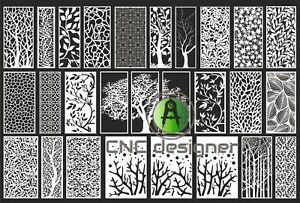 Dxf cdr Of Plasma Laser Router Cut For Cnc 27 Model Tree