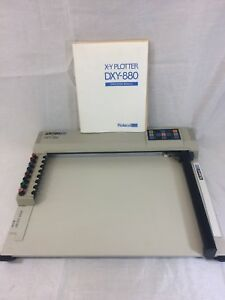 Roland Dxy 880 X Y Plotter With Operational Manual