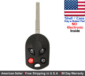 1x New Replacement Keyless Remote Key Fob Case For Ford Escape Oucd6000022 Shell