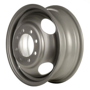 Reconditioned 16x6 Silver Steel Wheel For 1994 1999 Dodge Fullsize 560 02125