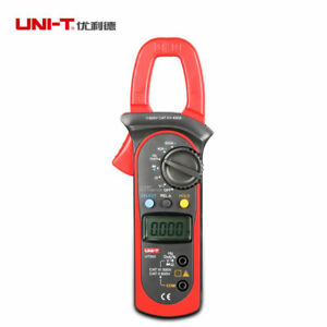 Uni t Ut203 Digital Clamp Meters Voltage Current Frequency Tester 400 600a Xg