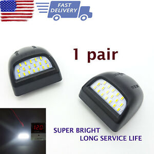 Super Bright Smd Led License Plate Lights For Chevy Silverado Gmc Cadillac 99 14
