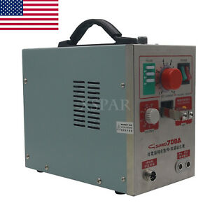 1 9kw Spot Welder Soldering Iron Staion 709a Battery Welding Machine 60a Us Sell