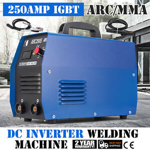 250amp Mma Arc Dc Inverter Welder Machine 110v 220v Igbt Dual Voltage Newest