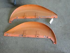 1939 Model Allis chalmers B Tractor Pair Of Original Fenders Tag 240