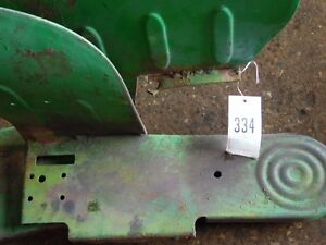 John Deere 1010 Tractor Pair Of Small Fenders W Floor Plates Tag 334