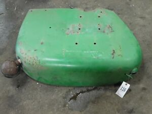 John Deere 2010 Tractor Right Fender Tag 116