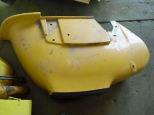 John Deere 110 Tractor Backhoe Left Fender Tag 2870