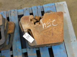 Allis chalmers Front Tractor Suitcase Weight 65 Lbs Tag 254