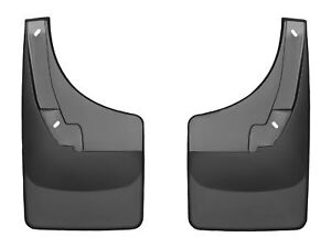 Weathertech No drill Mudflaps For Dodge Ram Truck W o Ff 09 18 Rear Pair