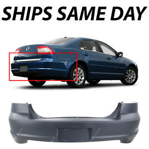 New Primered Rear Bumper Cover Replacement For 2006 2009 Mercury Milan 06 09
