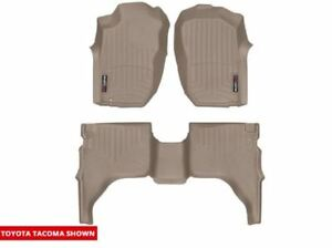 Weathertech Floorliner Mat For Toyota Tacoma Double Cab 2001 2004 Tan