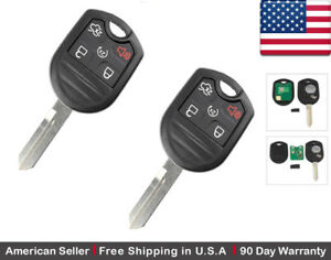 2 New Replacement Keyless Entry Remote Key Fob For Ford Lincoln Mazda Cwtwb1u793