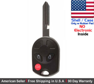1x New Replacement Keyless Entry Remote Key Fob Case For Ford Lincoln Shell