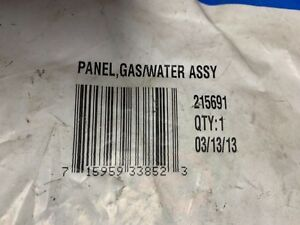 Miller Panel Gas water Part 215691 New