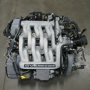 2000 2001 Mazda Mpv Engine And Transmission Gy de 2 5l Gy
