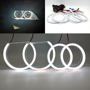Cotton Led Halo Rings For Bmw E60 E61 M5 03 07 Xenon Headlight Led Angel Eye Drl