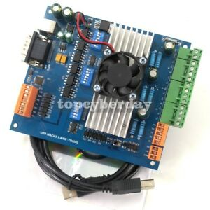 Usb Mach3 Cnc 3axis Tb6560 Stepper Motor Driver Board With Mpg Usb Port Cable