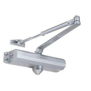 Tell Manifacturing Aluminum Heavy duty Adjustable 1 4 Door Closer