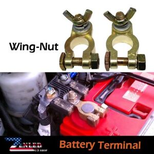 Wing Nut Marine Brass Battery Terminal Battery Accessories Industrial Standard
