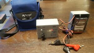 Nice Tempo Model 177 Precision Tone Generator W Leads Case Battery Tested