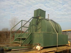 750 Gallon Diesel Fuel Tank Transfer Tank 12 Volt Pump