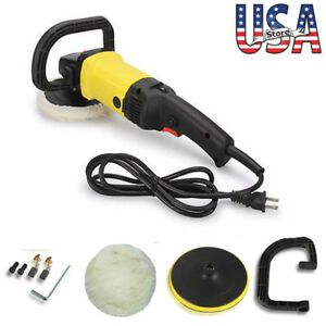 7 Adjustable 6 speed Car Multi functional Electric Waxing Machine Polisher 110v