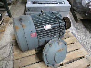 Reliance Duty Master Ac Motor Xe 100hp 1800rpm 460v 3ph 111a 60hz Tefc Used