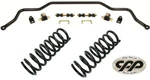 1955 1956 1957 55 57 Chevy Belair Front Sway Bar And Stock Spring Suspension Kit