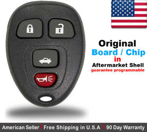 1x Replacement Oem Keyless Entry Remote Control Key Fob For Chevy Buick Pontiac