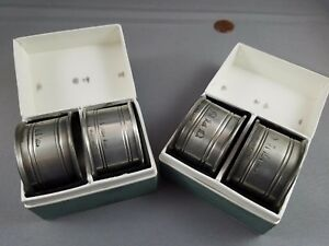 Vintage Silver Plated Set Of 4 Napkin Rings England