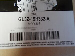 New Ford Oem Trailer Brake Control Module Gl3z19h332a
