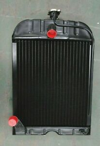 8n8005 For Ford 8n 9n 2n Radiator With Cap 4 Row Quality