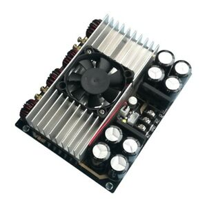 Audio Amplifier Board 420w 2 Digital Amp Board 2 ch Tda8954th Dual Core W fan X