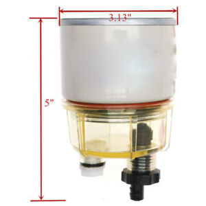 Racor Fuel Filter Replacement Element 10 Micron R12t