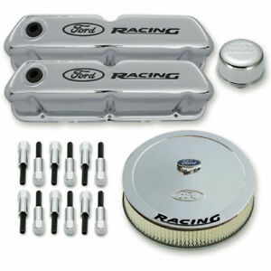 Proform 302 510 Engine Dress Up Kit Ford 289 302 351w Chrome Ford Racing