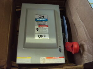 Siemens Hnf361pv Solar Safety Disconnect Switch Nonfusible 600vac dc 30 Amp