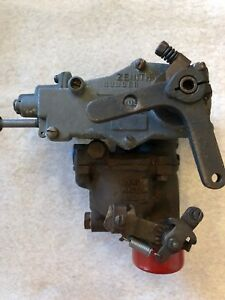 Zenith Model 61 Carburetor Tow Motor Forklift Continental Tractor As is