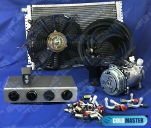 A C Kit Universal Under Dash Evaporator Hd Kit Air Conditioner 12v 450 0cb